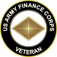 Amazon Com Magnet U S Army Veteran Finance Corps Vinyl Magnet Car Fridge Locker Metal Decal 3 8 Automotive