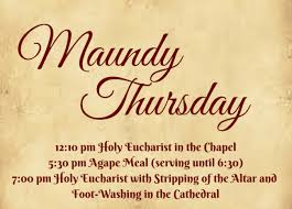 happy maundy thursday quotes wishes sayings bible verses