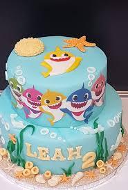 baby shark cake baby birthday cakes