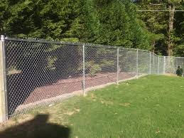 6ft Tall Residential Chain Link Fence Chain Link Fence Fence Fencing Companies