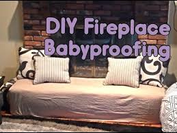 diy fireplace babyproofing you