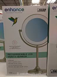 feit rechargeable led vanity mirror