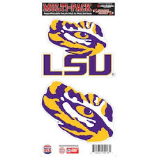 Louisiana State University Car Decor Lsu Tigers Car Magnets Stickers Www Lsushop Net