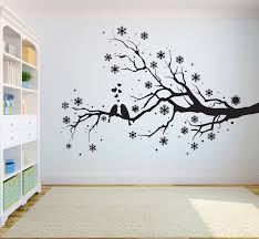 Tree Wall Decal Sticker Bedroom Tree Of Life Roots Birds Etsy