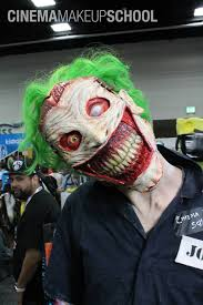new 52 joker face prosthetic and makeup