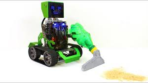 how to make a vacuuming robot diy