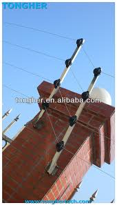 High Quality China Alloy Stainless Steel Fiberglass Electric Fencing Poles Posts With Insulators Material Tongher View Poles Tongher Product Details From Shenzhen Tongher Technology Co Ltd On Alibaba Com