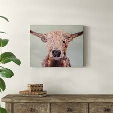 Union Rustic Baylor Acrylic Painting Print On Wrapped Canvas Wayfair