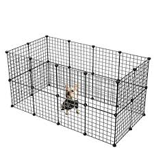 Dog Playpen By Cosyhome Portable Large Metal Wire Yard Fence For Animals 24 Panels Popup Kennel Crate Fence Tent Portable Black Buy Products Online With Ubuy Kuwait In Affordable Prices B01lb9t54u