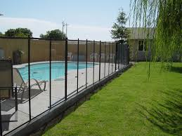 Mesh Pool Fence Gallery Childguard Diy Removable Pool Fencing