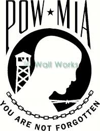 Pow Mia Wall Sticker Vinyl Decal The Wall Works