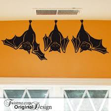 20 Off Coupon On Animal Wall Decal Cute Hanging Bats Not Just For Fall Decorations Hanging Bats Wall Decal Decorations Indoors Outdoors 0173a45 By Twistmo Etsy Coupon Codes