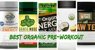 organic pre workout supplements