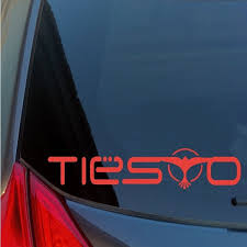 Tiesto Vinyl Sticker Decal Dubstep Trance Dance House Techno Dj Vegas Edm Edc Wish