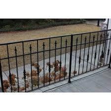 3 Ft H X 15 Ft W Heavy Duty Deck Netting Vinyl Fencing Garden Fence Panels Fence Panels Decks Backyard