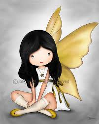 Guardian Angel Yellow Grey Nursery Illustration Art Print Angel Poster Kids Print Girl Nursery Decor Children In 2020 Angel Wall Art Grey Wall Art Nursery Art Grey