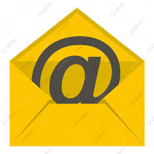 Yellow Envelope With Email Sign Icon Isolated, Email Icons ...