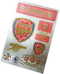 Amazon Com Football Club Soccer Team Logo Stickers Car Glass Wall Laptop Favorite Items Sticker Decal New Arsenal 7 5 10 6 Inch Kitchen Dining