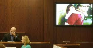 Ben Thompson, left, the ex-husband of Abigail Young, not ...