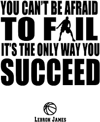 Basketball Wall Decals And Success Quotes Lebron James Inspirational Quote Decals Nba Basketball Players Life Quotes Wall Decor Premium Quality Vinyl Art Decal Sticker Modern Wall Art Made In Usa Amazon Ca Home