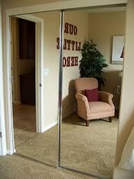 mirror closet doors image of bathroom