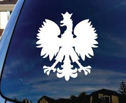 Polska Polish Poland Eagle Car Window Vinyl Decal Sticker 6 Proud To Be Polish