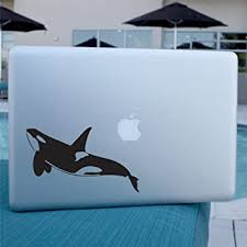 Amazon Com Orca Whale Decal Vinyl Sticker Killer Whale For Car Window Laptop Wall Computers Accessories
