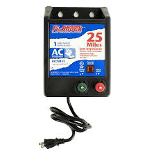 Fi Shock 25 Mile Ac Hardwired Electric Fence Charger In The Electric Fence Chargers Department At Lowes Com