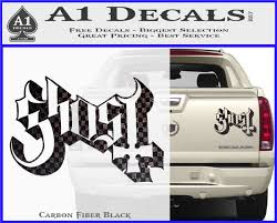 Ghost Band Decal Sticker Dt A1 Decals