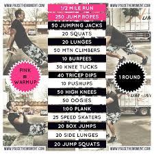 feel the burn bodyweight workout