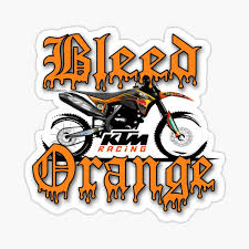 Ktm Racing Stickers Redbubble