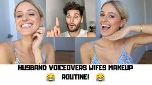 husband does voice over of wifes make