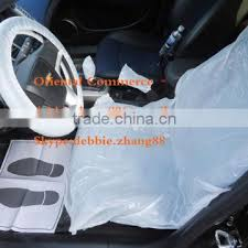 plastic disposable car seat cover of