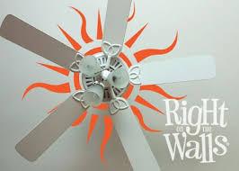 Sun Ceiling Wall Decals Vinyl Art Stickers