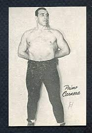 Amazon.com: 1947 Homogenized Bond Primo Carnera Wrestler NR-MT 369750 Kit  Young Cards: Sports Collectibles
