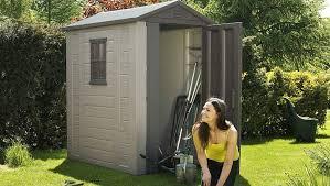 best garden shed reviews plastic