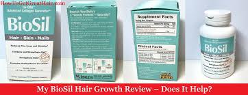 my biosil hair growth review 2020