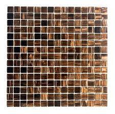 3 4 x 3 4 copper gold glimmer glass