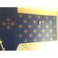 designer wall stencil at rs 80 square