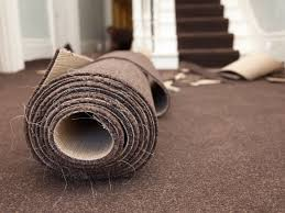 how to install new carpeting over old