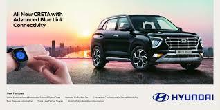 2020 Hyundai Creta Blue Link To Get More Than 50 Features List