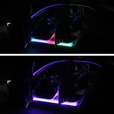 Xe Ô Tô 12V Đèn LED Cánh Cửa Trang Trí Đèn Chống Nước Ô Tô Đơn Treo Đèn  Theo Xe Cửa Dải Đèn Tự Động Môi Trường Xung Quanh đèn|