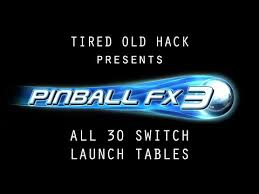 pinball fx 3 all 30 launch tables on