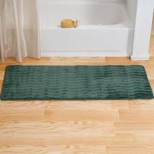 memory foam extra long bath mat