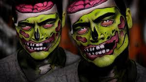 makeup pop art zombie easy craft ideas
