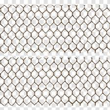 Chicken Wire Barbed Paper Chain Link Fencing Material Transparent Png