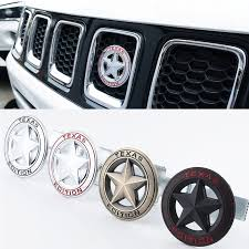 Car Styling Texas Edition Badge Emblem Decal Sticker For Jeep Wrangler Compass Grand Cherokee Patriot Liberty Renegade Commander Car Stickers Aliexpress