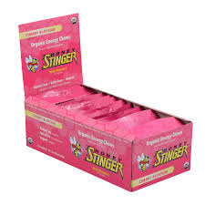 honey stinger energy chews box of 12