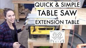 Setting Up The Dewalt 10 Job Site Table Saw 3x3 Custom