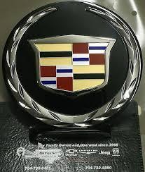 Cadillac Esv Xts Platinum P Emblem Decal Sticker Chrome New Oem Rainbowlands Lk